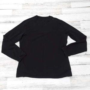 Lululemon Black Men's Long Sleeve Shirt XL Cotton
